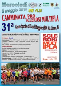 31ª CAMMINATA PER LA SCLEROSI MULTIPLA