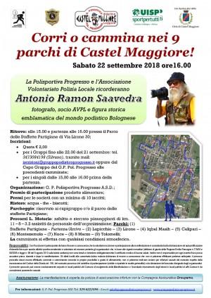Corri o cammina nei 9 parchi di Castel Maggiore