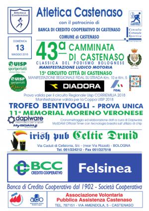 43° Camminata di Castenaso - 15° Circuito Città di Castenaso